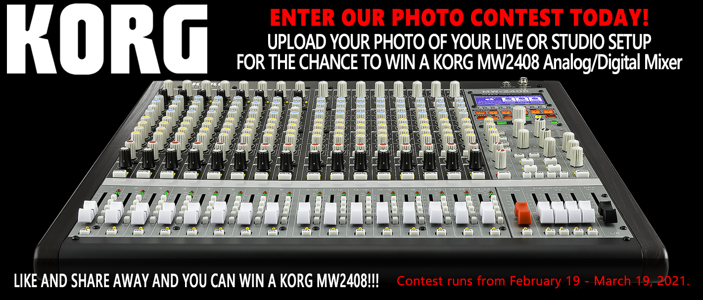 Photo Contest 📸Learn More About The KORG MW-2408